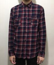 Valor Flannel Long Sleeve Check Shirt Medium Vintage - Quick Dispatch