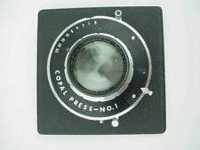 B&L TESSAR Ic E.F 6-3/8 Inches 163mm F/4.5 Large Format Camera LENS