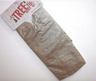 NEW NIP Christmas A Tree Skirt for Me Shimmery Gold 20 Inch Miniature Mini