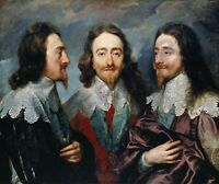 VAN DYCK PORTRAIT KING CHARLES I OF ENGLAND GIANT WALL POSTER ART PRINT LLF0729
