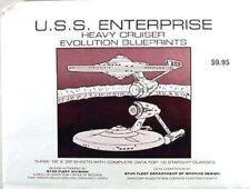 Star Trek Enterprise Evolution Blueprint Set- 3 Sheets