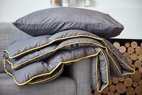 The Fine Bedding Company Night Owl Duvet 10.5 Tog Washable Grey 5 Year Guarantee