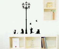 A++ Removable Art Street Lamp DIY Wall Sticker Decal Mural Home Room Decor