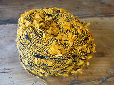 1 PELOTE LAINE FIL FANTAISIE A TRICOTER OU CROCHETER  0,11 KG knotting yarn