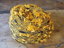 1 PELOTE LAINE FIL FANTAISIE A TRICOTER OU CROCHETER  0,11 KG knotting yarn