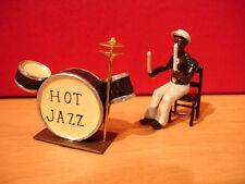 CBG MIGNOT FIGURINE MUSICIEN JAZZ BATTERIE DRUM  figure lead  jazz musician