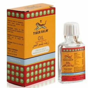 TIGER BALM Liniment or Oil 3ml 15ml  Pain Relief Headache/Joint Aches/Body