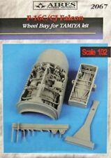 Aires 1/32 F-16C/CJ Falcon Wheel Bay for Tamiya kit # 2067