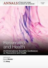 NYAS-Resveratrol and Health BOOK NEW