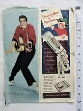 Elvis Presley -- UK & US  Magazine Pictures approx, 1956-58 Originals