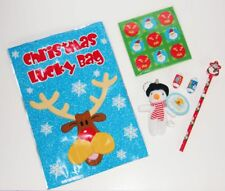 30 PARTY BAGS Grotto BOYS GIRLS CHRISTMAS STOCKING FILLERS Xmas PRIZES SANTA