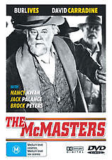 The McMasters DVD Burl Ives and David Carradine 1970 Western Movie JACK PALANCE