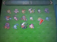 16 pack mew, arceus Volcanion hoopa and others Pokemon X Y ORAS Sun Moon