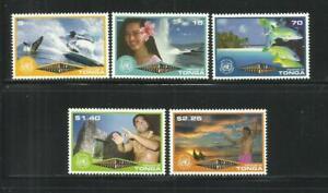TONGA . Año: 2001. Tema: AÑO DEL ECO-TURISMO.