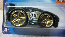 ESPRIT LOTUS BLING HW Green #39 2003 moc fat tires Special Gold Rim Esprit Lotus