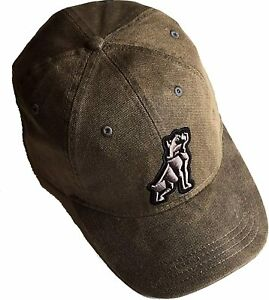 Mack Trucks Bulldog Waxed Canvas Cap Workwear Work Hat
