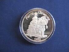 1989 SilverTowne Garfield Merry Christmas Silver Art Medal P2766