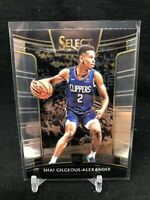 SHAI GILGEOUS-ALEXANDER 2018-19 Select #7 ROOKIE CONCOURSE RC Oklahoma City Q15