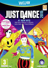 Just Dance 2015 Nintendo Wii U * NEW SEALED PAL *