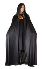"""Black Hooded 68"""" Cape for Adult Halloween Costume"""
