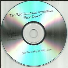 Golden State RED JUMPSUIT APPARATUS Face Down w/RARE TOP 40 EDIT PROMO CD single