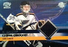 PACIFIC 2004 CHRIS OSGOOD NHL ST. LOUIS BLUES GOALIE #35 GAME JERSEY /850