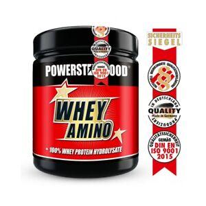 WHEY AMINO - Neu!! jetzt 1000mg pro Tablette - 500 Tabletten - Powerstar Food