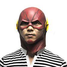 The Flash Mask DC Movie Cosplay Costume Prop Halloween Purim Full Head Latex