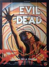 Evil Dead - Sam Raimi / Campbell /Grindhouse- Original Large French Movie Poster