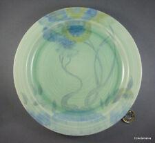 Clarice Cliff RHODANTHE (Aurea) Plate - C1930s Art Deco