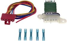 SOLSTICE HUMMER H3 BLOWER MOTOR RESISTOR KIT WITH HARNESS NEW DORMAN # 973-510