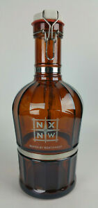 MUSTER GESCHUTZT Brown Glass 2L Growler Beer Bottle North by Northwest Brewery
