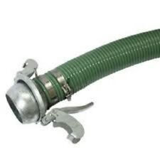 """Suction Hose Assembly x 5.0m With Bauer Lever Lock Adaptors 2"""", 3"""", 4"""" and 6""""."""