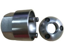 2 x M10 anti theft security lock nuts tool suit Lightforce Hella IPF nut light