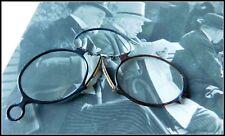 Kneifer Zwicker 1900 Horn Bakalit  Nasenbrille aus alter Zeit vintage Feste
