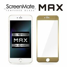 iPhone 6/6s Plus Screen Protector [Full Cover]- iloome ScreenMate MAX [GOLD]