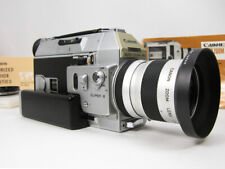 Working Pro Canon 814 Super 8 Movie Camera W/Instructions & Ready To Film Nice!
