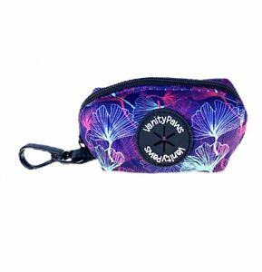 purple dog puppy wedding waste poop poo bag carrier holder
