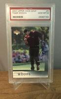 2001 Upper Deck Golf RC Rookie Card #1 Tiger Woods Non-Auto Gem Mint PSA 10