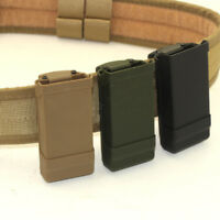 Tactical 1911 Single Magazine Pouch Quick Draw Mag Clip Holder MAG Pouch