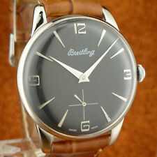 Great Vintage BREITLING - Black Dial - Size 36mm? - from 1951'