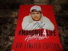 Austin Mahone Rare Authentic Signed Limited Edition VIP Poster Lithograph + COA
