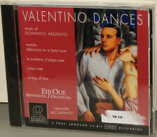 Reference Recordings RR-91CD: Valentino Dances - Dominik Argento - Oue - 2000 SS