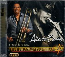 Alberto Barros Tributo a La Salsa Colombiana Vol.4  BRAND NEW -SEALED  CD/DVD