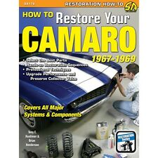 SA178P How to Restore Your Camaro 1967-69 Restoration Book Body Interior Engine