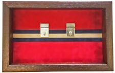 1 Black 20 Divided Display Case British German US WWII Medal Badge Sweetheart