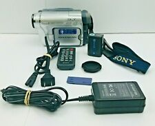 Sony Handycam Digital 8 With Remote Dcr-Trv460 Working Cosmetic Issues Read