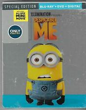 Despicable Me Steelbook Blu-ray & DVD Brand New Sealed Best Buy Exclusive