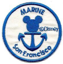 "7.4/"" DISNEY CRUISE Sailor Minnie//Mickey iron on rhinestone transfer bling patch"