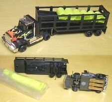 1993 TYCO TCR Slot Car Flamed Peterbilt Barrel Truck Total Control Racing Unused